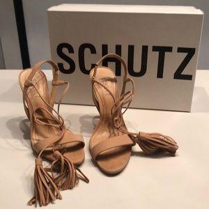Schutz nude sandals